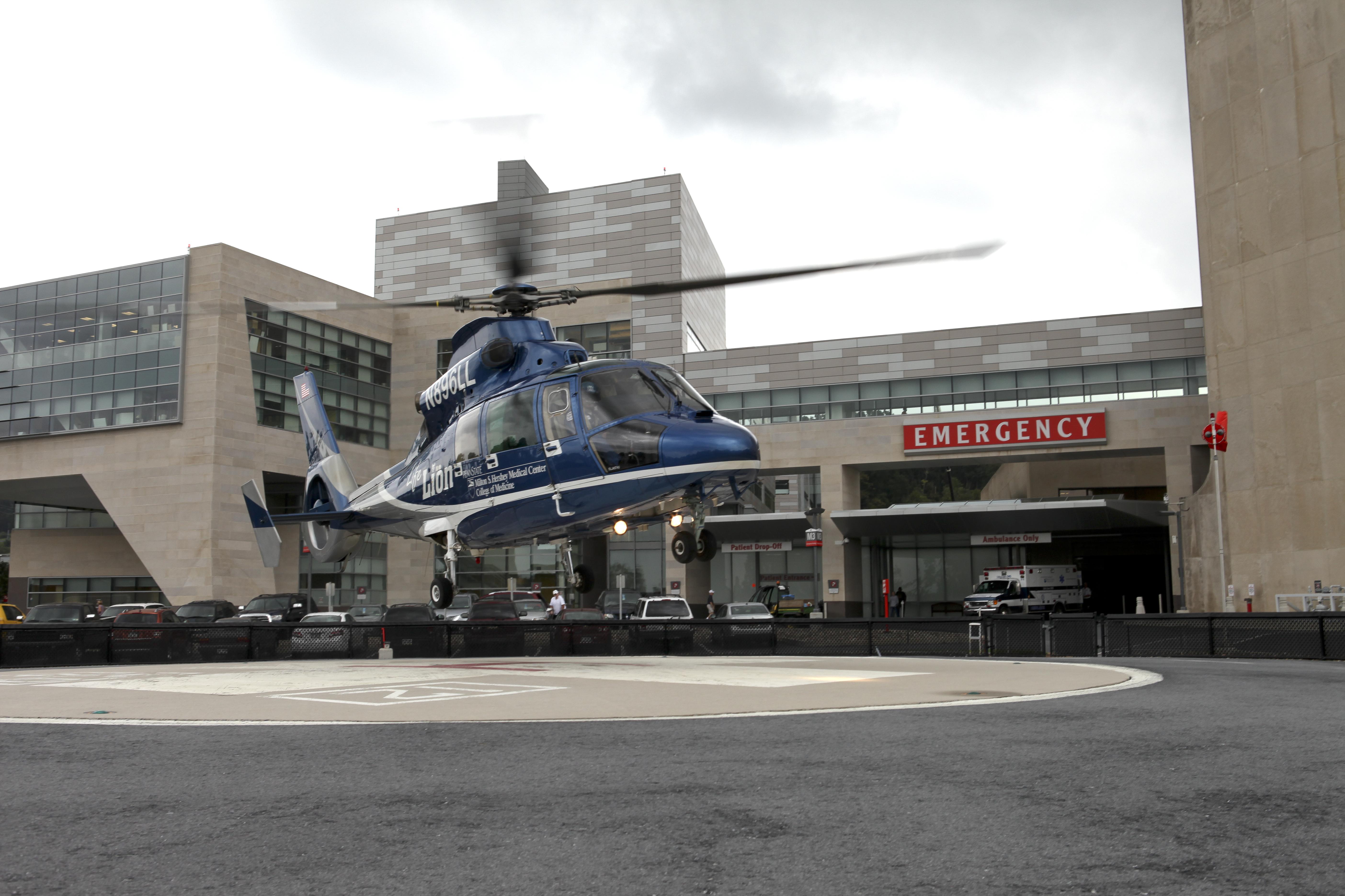 Penn State Milton S. Hershey Medical Center | Emergency Department