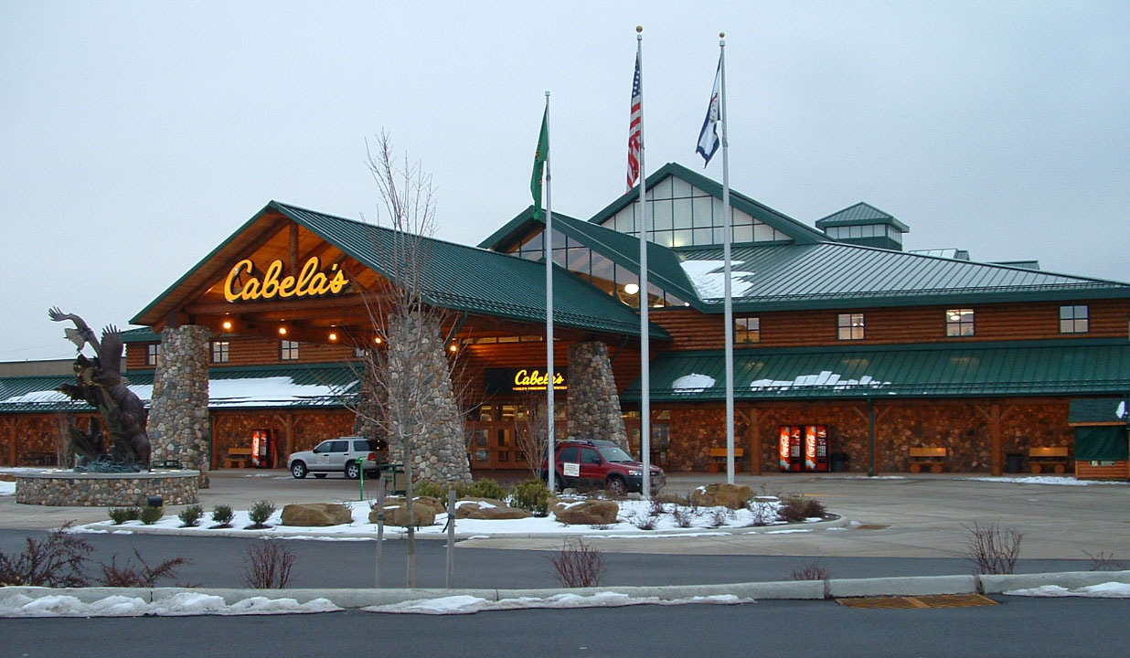 Cabela s retail stores for Fish store fort worth