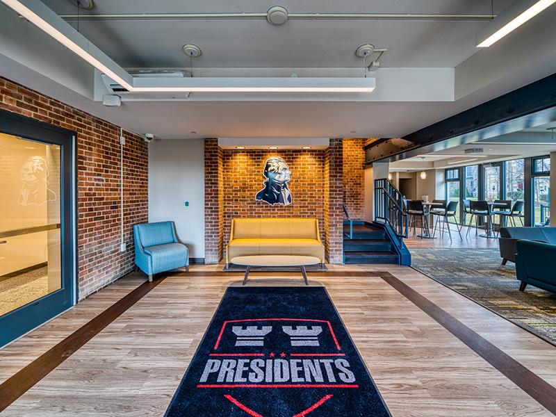 Presidents Row interior at Washington and Jefferson College