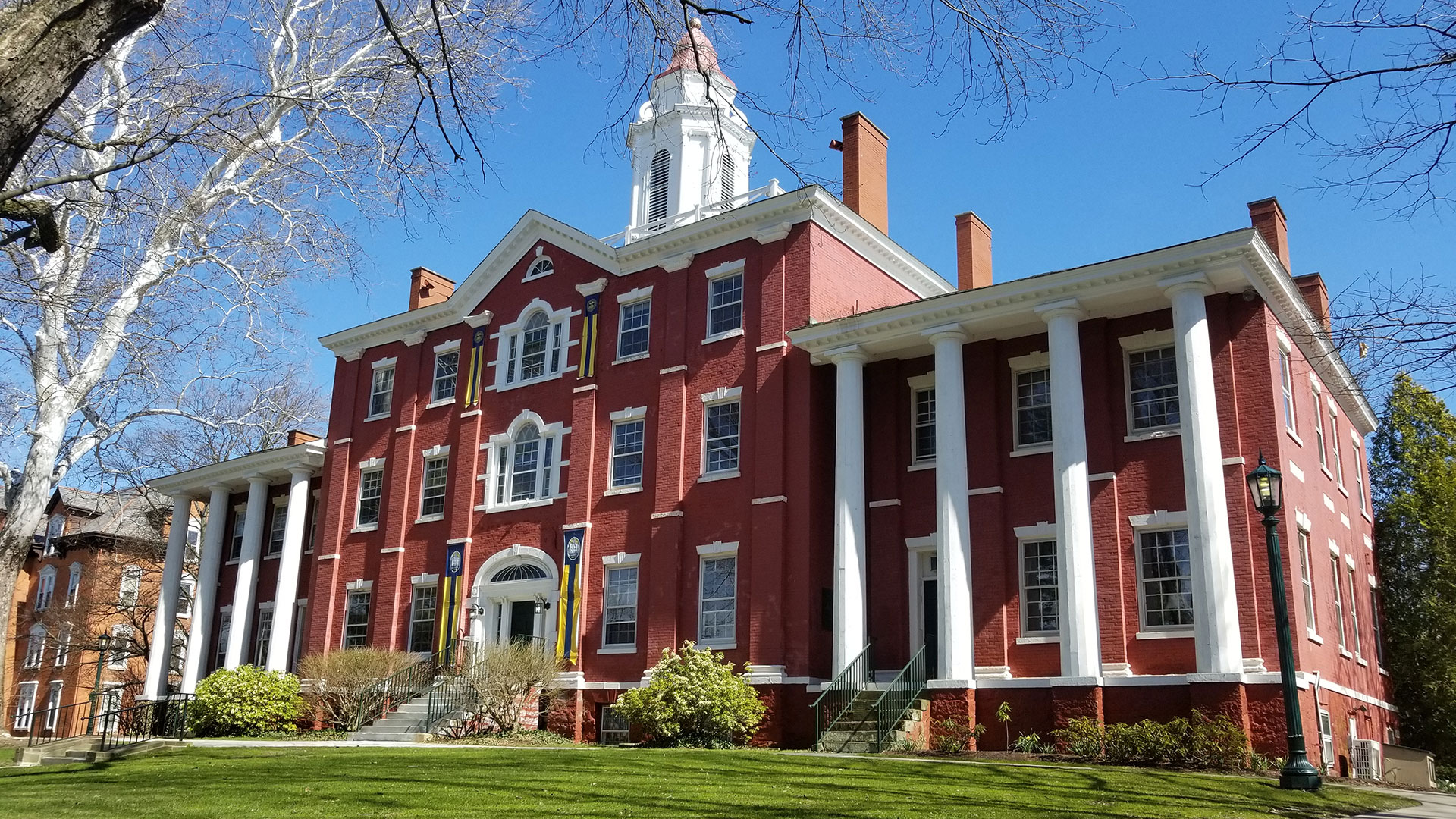 Bentley Hall at Allegheny College