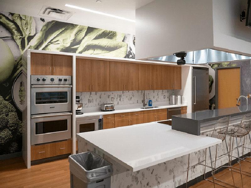 Kitchen at Bowers Center at Elizabethtown College