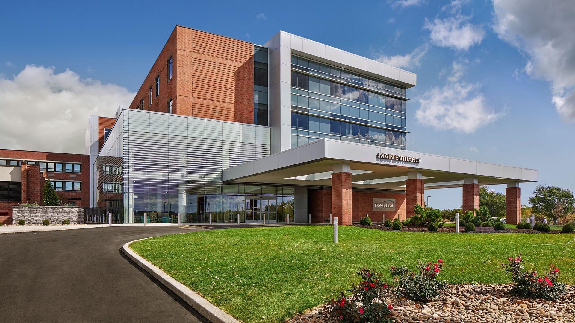 Evangelical Community Hospital Patient Room Modernization