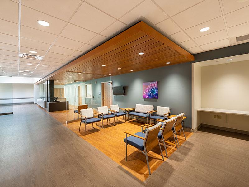 Guthrie Robert Packer Hospital Emergency Department waiting area