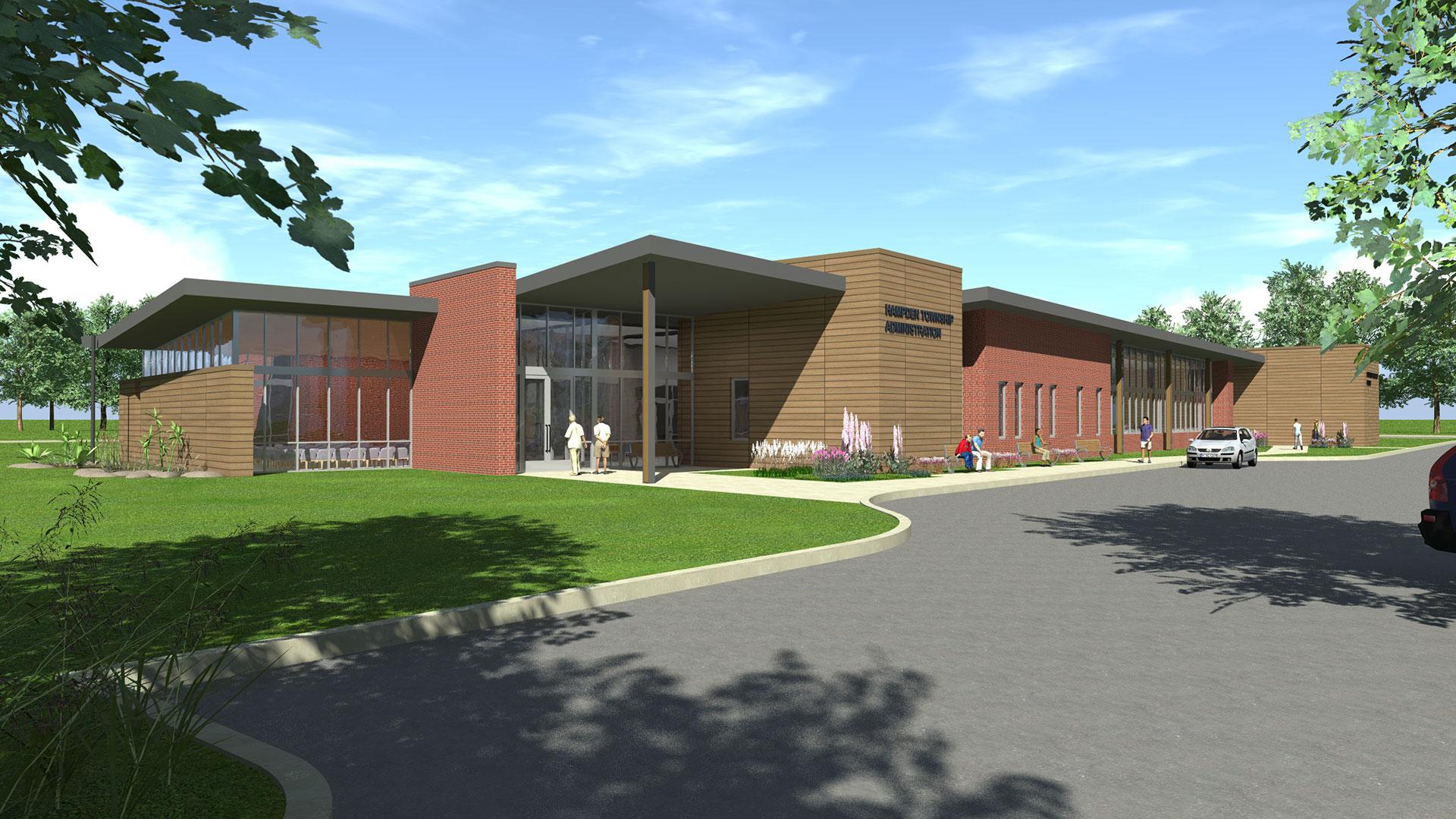 Hampden Township Municipal Building