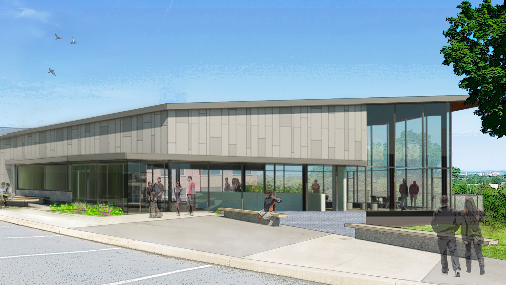 Graham Center for Innovation and Collaboration at Penn State York