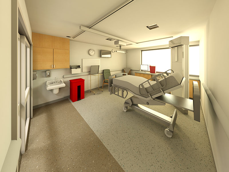 Surgical Anesthesia Intensive Care Unit at Penn State Health Milton S. Hershey Medical Center