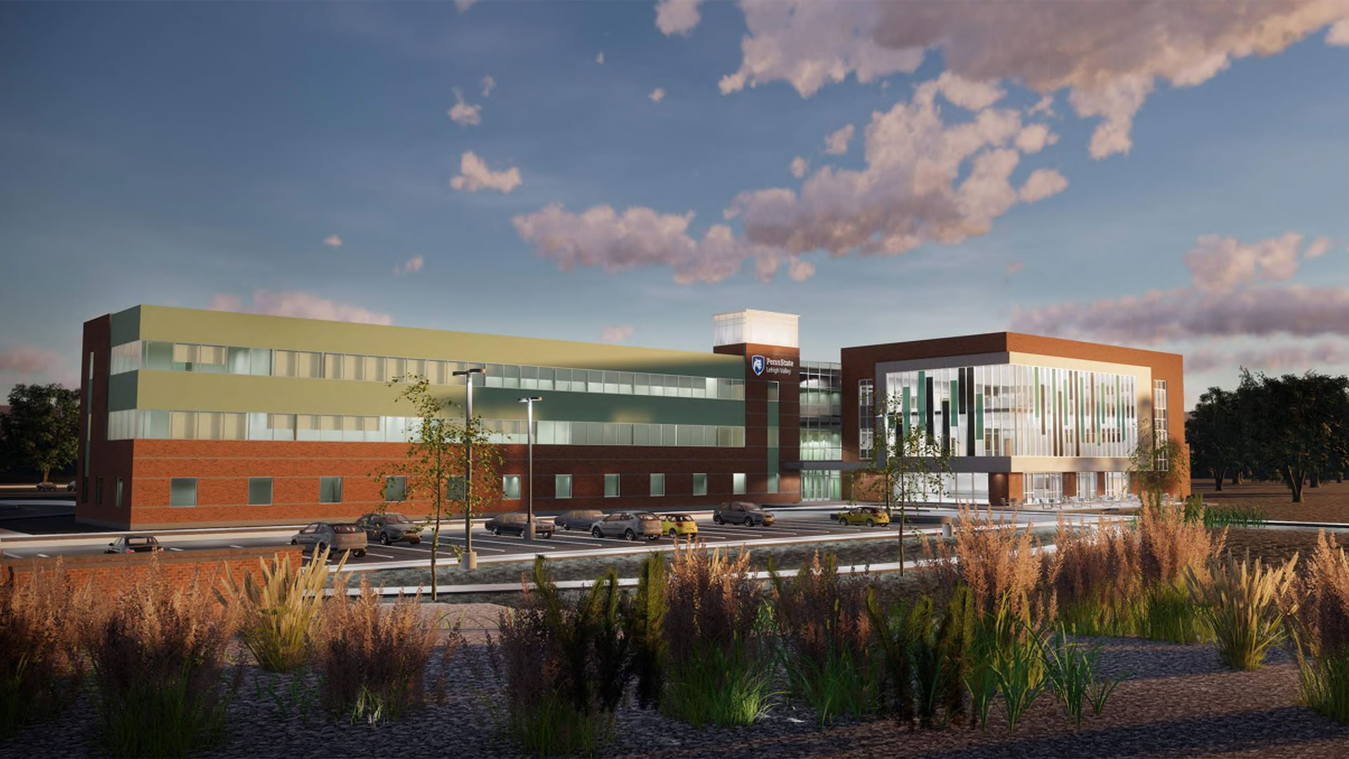 Dining, Student Center, and Lab Addition at Penn State Lehigh Valley