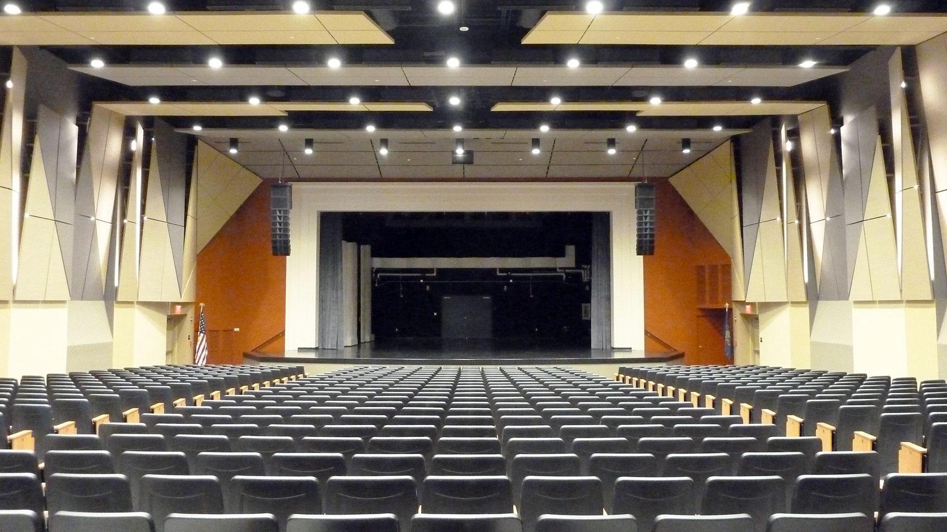 Price Auditorium at Lock Haven University