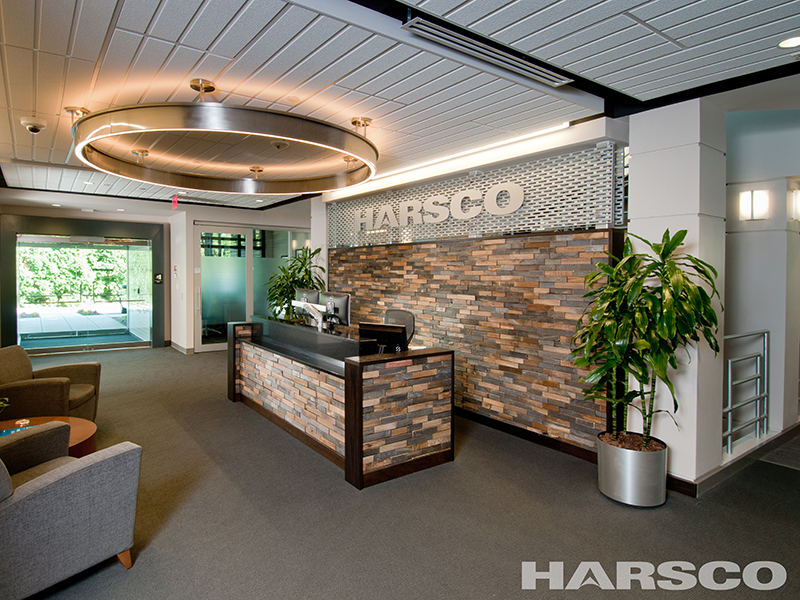 Interior Harsco Corporate Office design for our other markets project portfolio