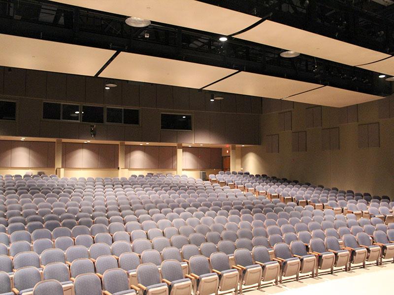 Large concert Hall at Millersville University