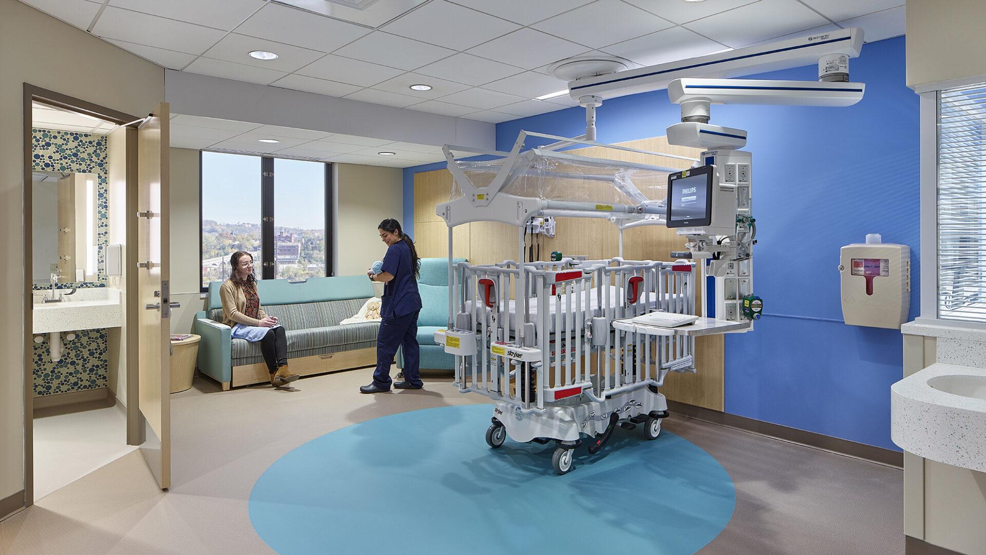 New Pediatric Unit at UPMC Harrisburg