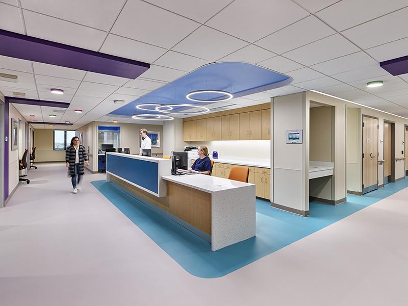 Nursing Station at UPMC Harrisburg