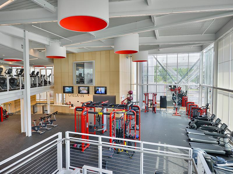 Fitness Center of Kline Fitness Center at Dickinson College