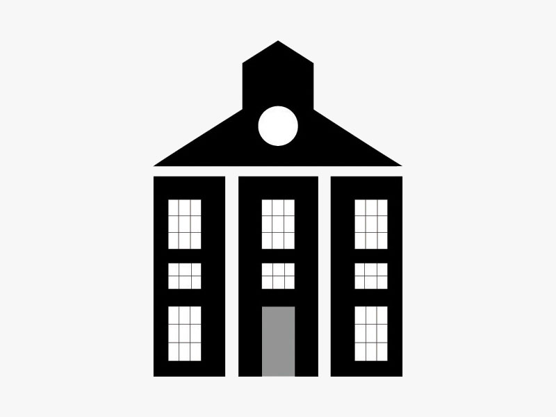 Barton Associates mission-style building icon