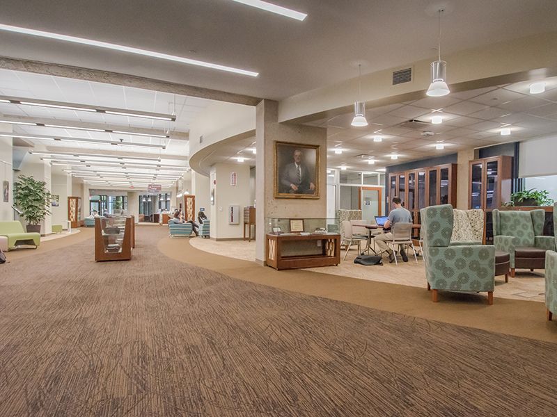 Harrell Health Sciences Library at Penn State College of Medicine