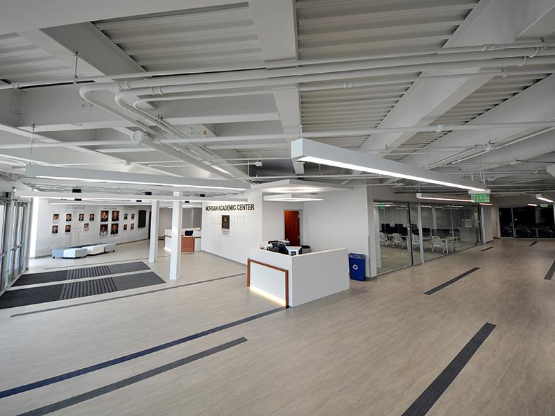 Main Entrance at Morgan Academic Center for Penn State