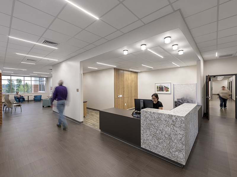 Reception Area at WellSpan Heart and Vascular Center