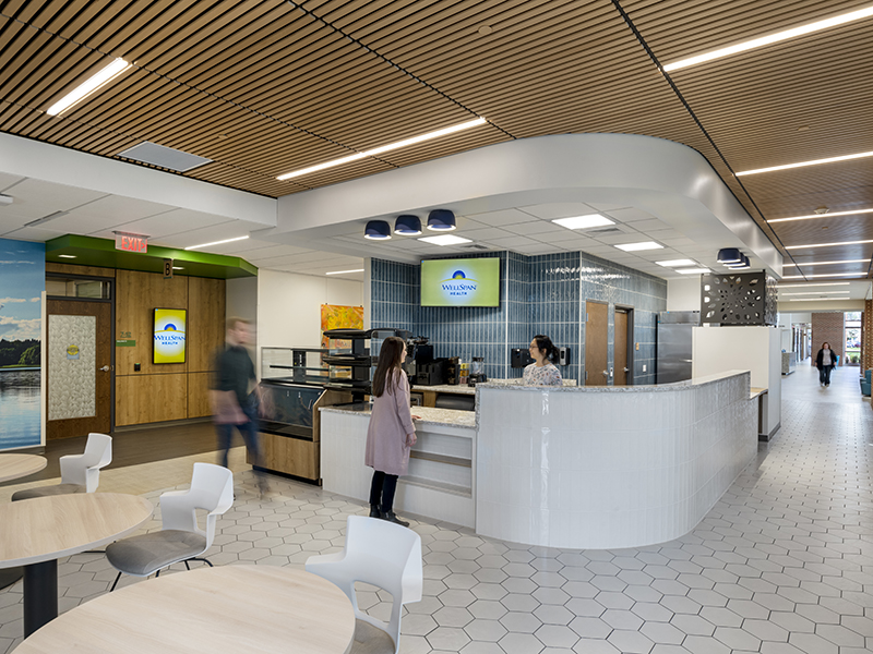 Retail Cafe at WellSpan Heart and Vascular Center